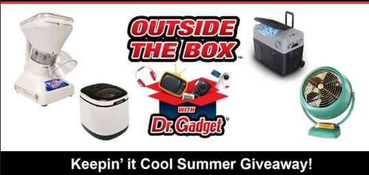 "Foxla Good Day LA's Dr. Gadget ""Keepin' it Cool"" Giveaway"