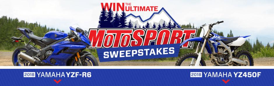 MotoSport 2018 Ultimate MotoSport Sweepstakes