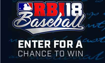 R.B.I. BASEBALL 18 ALL-STAR XBOX SWEEPSTAKES