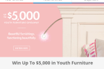 Smartstuff Furniture Win $5,000 In Youth Furniture Sweepstakes