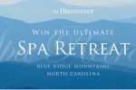 The Discoverer Spa Retreat in the Blue Ridge Mountains Sweepstakes
