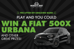World's Best Cat Litter Win A Fiat 500X Sweepstakes & Instant Win Game