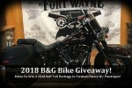 Win 2018 Soft Tail Heritage Motorcycle Giveaway