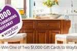 Bob Vila's $2,000 Home Furnishing Giveaway with Wayfair