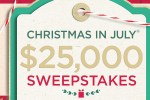 christmas july sweepstakes