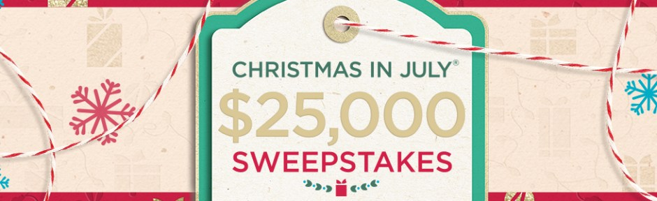 Christmas in July Sweepstakes