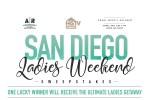 HGTV AR Workshop San Diego Ladies Weekend Sweepstakes