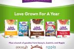 Love Grown Foods Love Grown Fan Love Sweepstakes