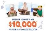 Stonyfield Farm Tiny Tummies Big Dreams Sweepstakes - Win $10000 Cash