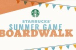 Starbucks Summer Game Boardwalk Sweepstakes