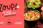 Coca-Cola Zoup 20 Years of Ladling Love Sweepstakes