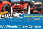 Hot Wheels Kroger Camaro Sweepstakes