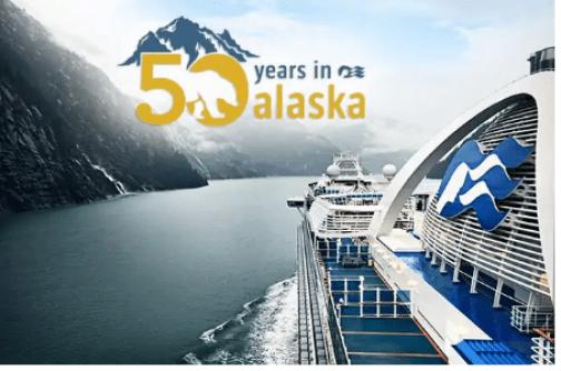 Princess Cruises 50 Years Sailing North To Alaska Sweepstakes
