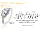 Riddle's Jewelry Golden Birthday Giveaway