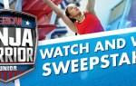 American Ninja Warrior Junior Watch & Win Sweepstakes