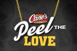 Raising Cane's Peel The Love Game 2019