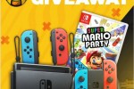 Nintendo Switch, Super Mario Party, Joy-Con Controller Giveaway