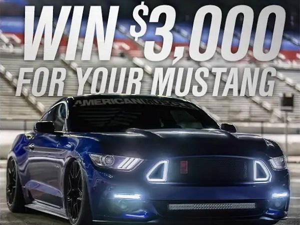 Americanmuscle Win Mustang Mods Sweepstakes