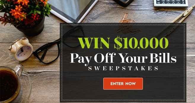 Better Home and Gardens $10,000 Sweepstakes