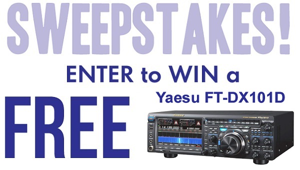 Gigaparts Sweepstakes 2020: Win Yaesu FT-DX101D