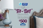 HGTV Live For Ta-Da! Sweepstakes
