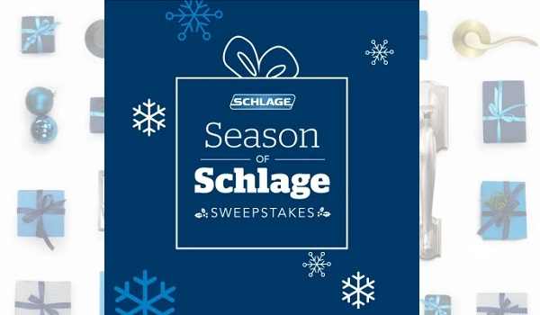Schlage Season of Schlage Sweepstakes