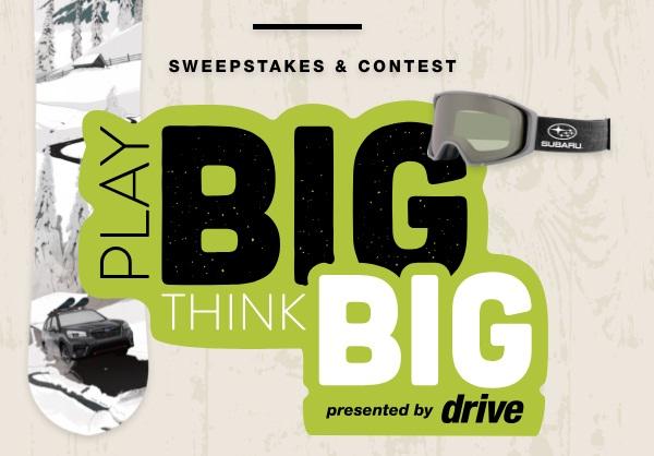 Subaru Play Big Sweepstakes