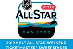 Ticket Master 2019 NHL All-Star Weekend Sweepstakes
