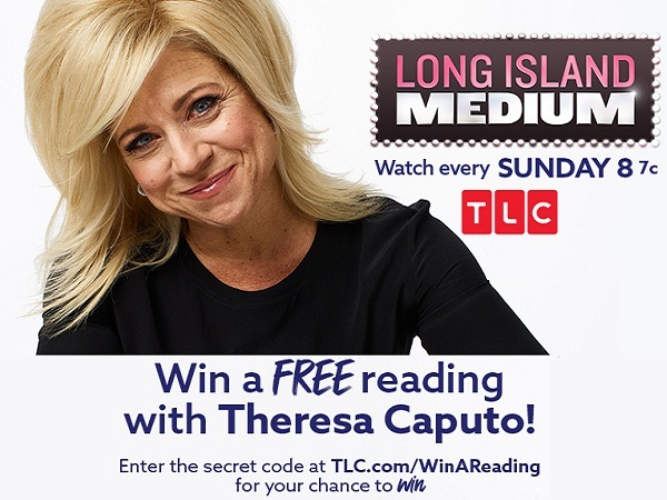 LONG ISLAND MEDIUM READING WITH THERESA SWEEPSTAKES