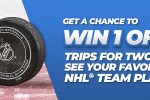 Travel nation Your Favorite Hockey Team Sweepstakes