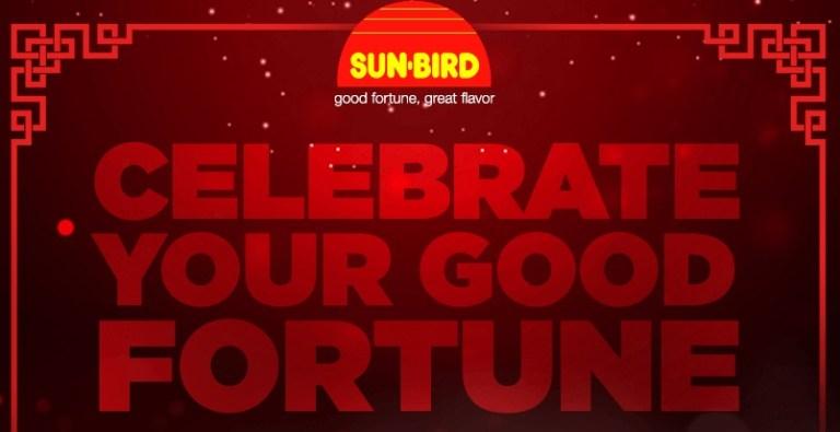 Sun-Bird Seasonings Celebrate Your Good Fortune sweepstakes