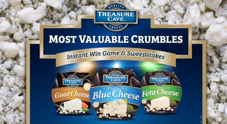 Treasure Cave Most Valuable Crumbles Instant Win Game