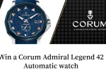 Corum Admiral Legend Watch Sweepstakes