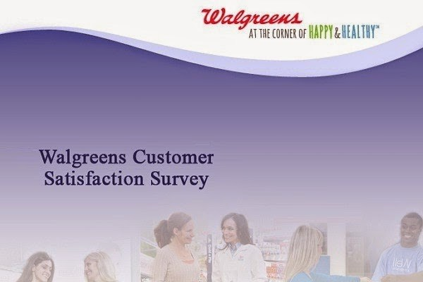 Walgreens Customer Satisfaction Sweepstakes 2019