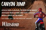 Winstoncigarettes Canyon Jump Instant Win Game Sweepstakes