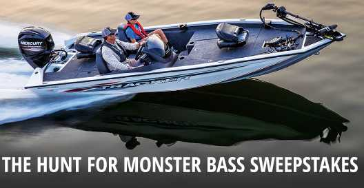 Bass Pro Shops & Cabela's Hunt For Monster Bass Sweepstakes