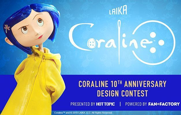 Fan Factory LAIKA Coraline Design Contest