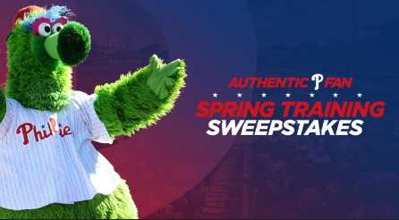 MLB Authentic Fan Spring Training Sweepstakes