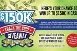 GateHouse Media $150K Crack the Code Giveaway