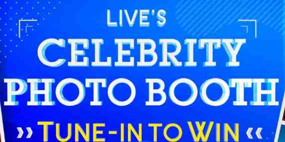 LIVE with Kelly & Ryan Celebrity Photo Booth Tune In To Win Contest