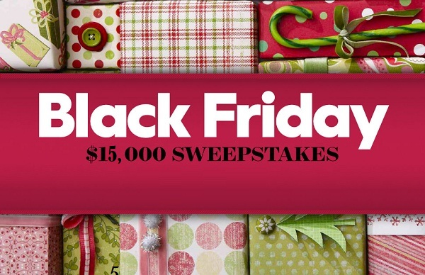 BHG.com Black Friday Sweepstakes