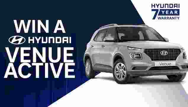 Sunrise Hyundai Car Competition