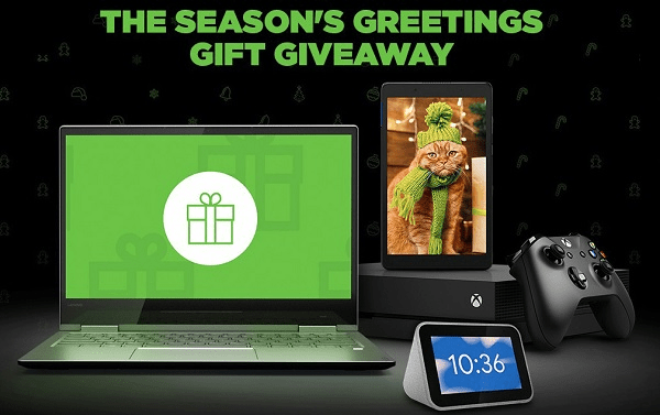 Lenovo Holiday Sweepstakes