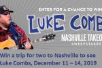 Grand Ole Opry Luke Combs Nashville Sweepstakes