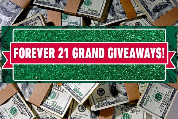 Forever 21 Grand Giveaway