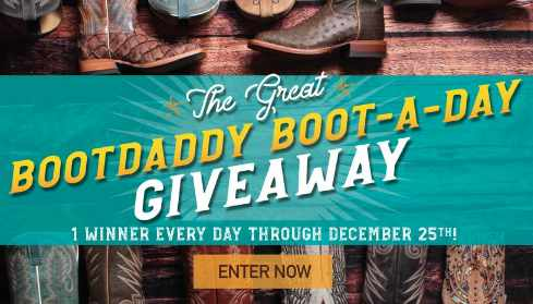 PFI Western Store BootDaddy Boot A Day Giveaway