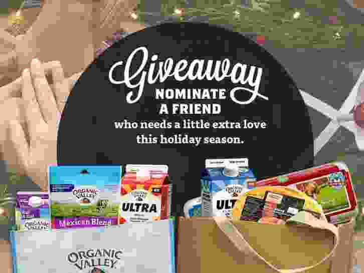 Organic Valley Gift Of Giving Sweepstakes