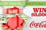 Coca-Cola Pay down Your Holiday Bills Sweepstakes