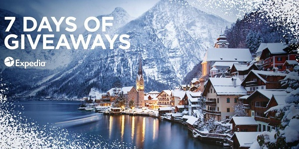 Expedia 7 Days of Giveaways Sweepstakes