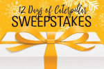Cat 12 Days of Caterpillar Sweepstakes